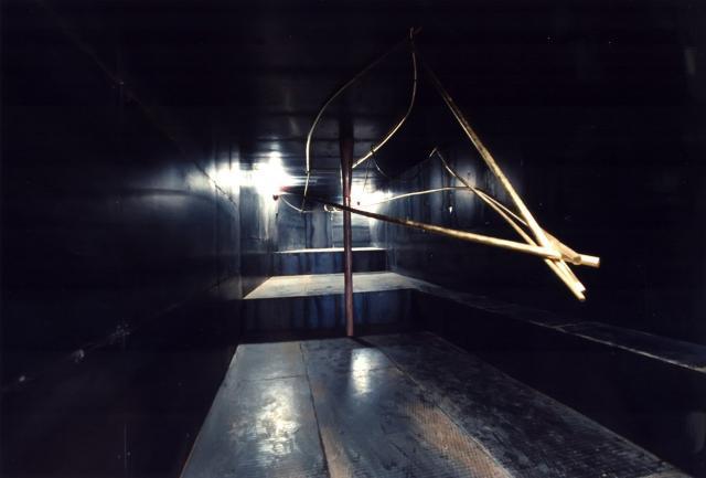 """""""Stanza di Barca d'Oro"""" di Hidetoshi Nagasawa - Letto del fiume Romei, Fiumara d'Arte (ME)"""