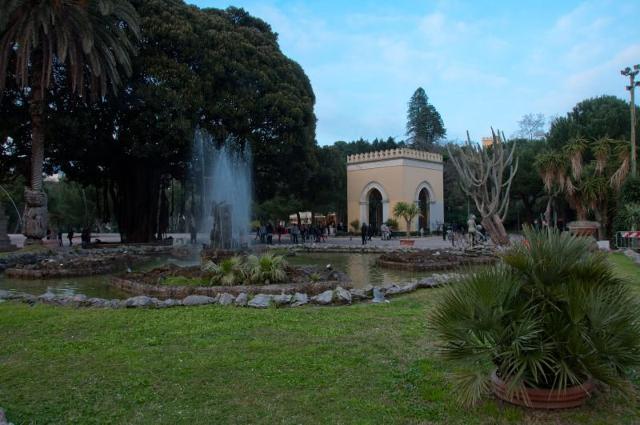 La fontana del Giardino Inglese di Palermo
