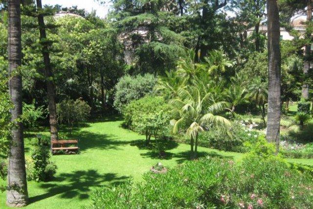 Il Giardino di Villa Pennisi, ad Acireale