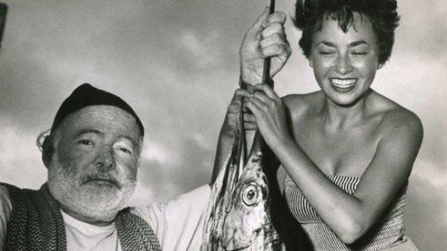 Ernest Hemingway e Inge Feltrinelli