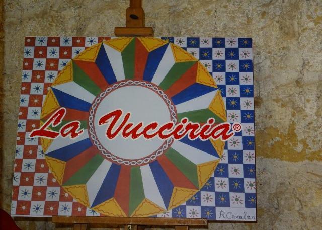 La Stidda de la Vucciria realizzata da Roberto Cavallaro