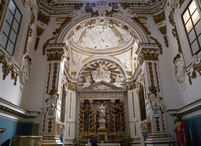 Altare dell'Oratorio dell'Immacolatella