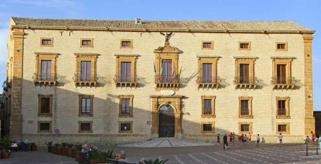Palazzo Trigona nel Quartiere Monte di Piazza Armerina (EN)
