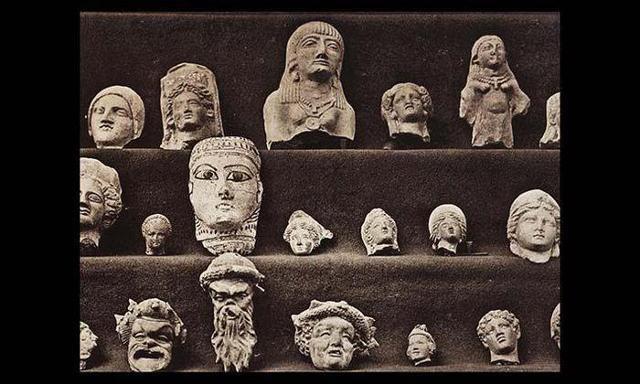 Collezione di reperti del Museo Archeologico Regionale Antonino Salinas di Palermo
