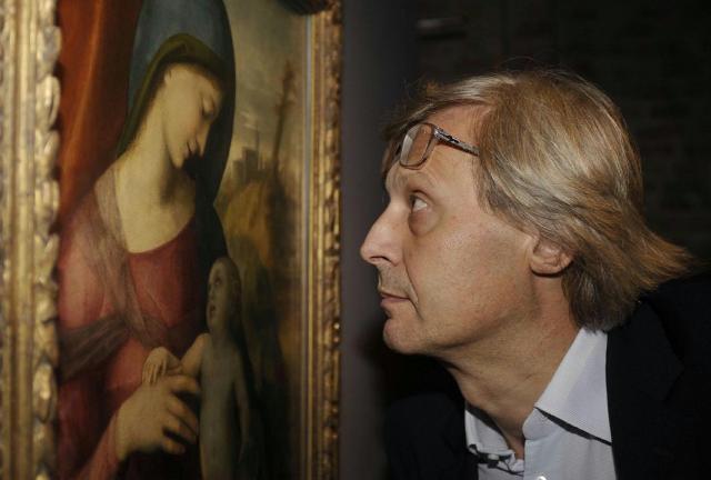 A Palermo nuovo tour ''Centodieci è Arte'' con Vittorio Sgarbi