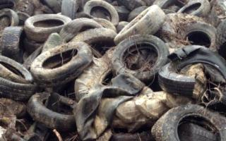 A Lampedusa raccolti 10 tonnellate di pneumatici fuori uso