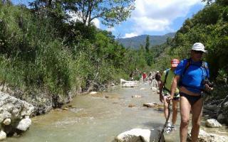 Ritorno al Sosio: acquatrek nel fiume con bagno