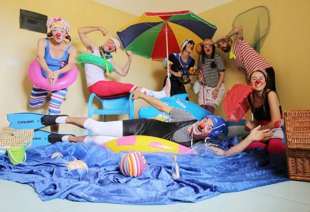 I Clown Dottori portano il mare dentro l'ospedale!