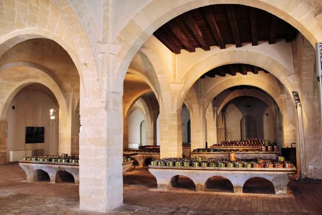 l'ex Stabilimento Florio della Tonnara di Favignana e Formica - uno degli ambienti interni
