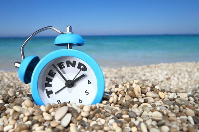 Fine delle vacanze