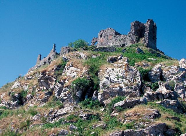 Gioiosa Guardia, situata sul Monte Meliuso - Gioiosa Marea (ME)