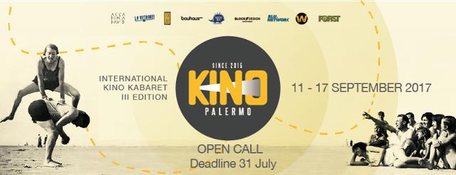 Al via le iscrizioni per KinoPalermo 2017