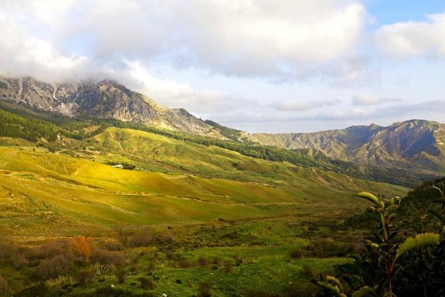 Panorama dei Monti Sicani