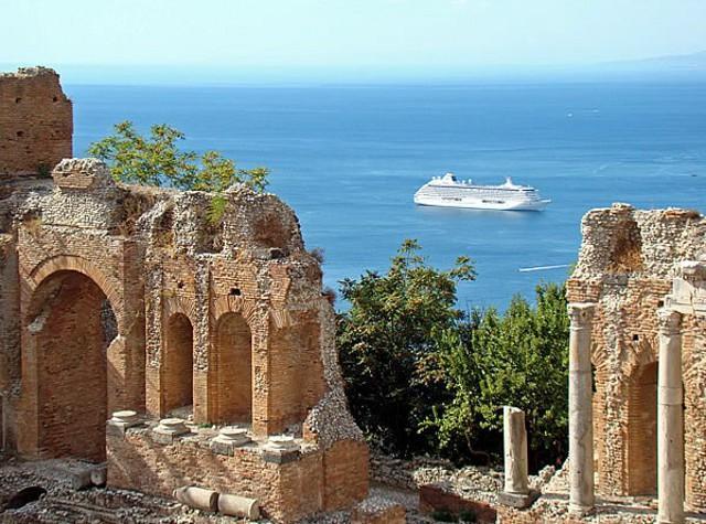 Quest'anno in Sicilia sono arrivati oltre 1mln di crocieristi