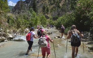 Trekking sul Fiume Sosio