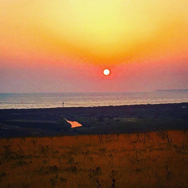 Foce del fiume Platani al tramonto - ph Pierfilippo Spoto