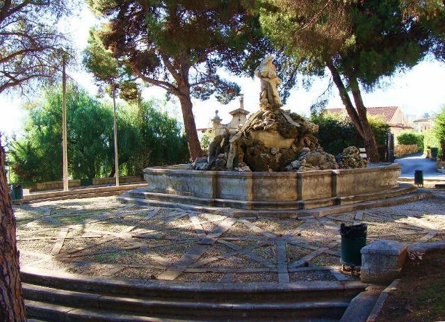 La Fontana del Pescatore di Monreale