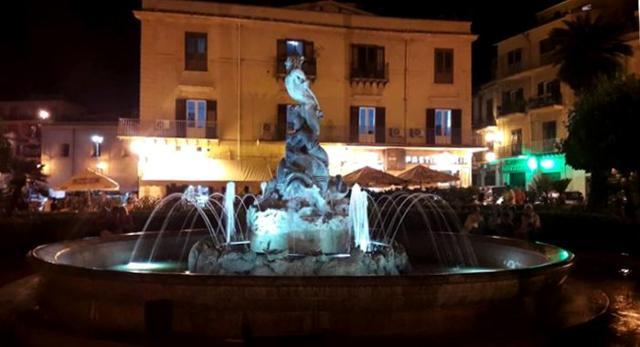 La Fontana del Tritone a Monreale