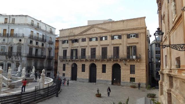 Palazzo Bonocore in Piazza Pretoria a Palermo