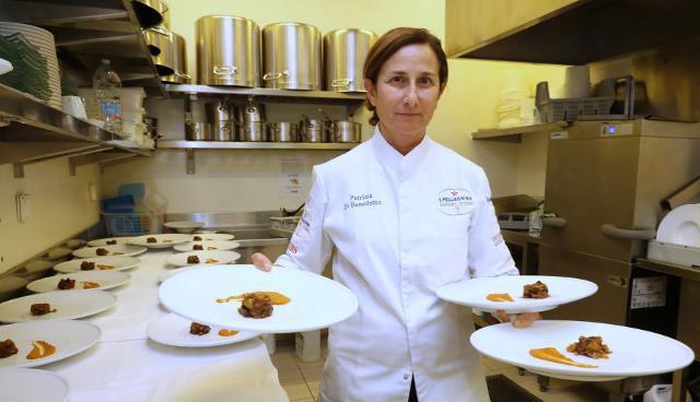 La chef stellata Patrizia Di Benedetto