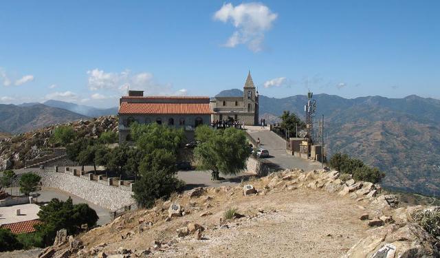 Santuario di Monte Kalfa a Roccafiorita (ME)
