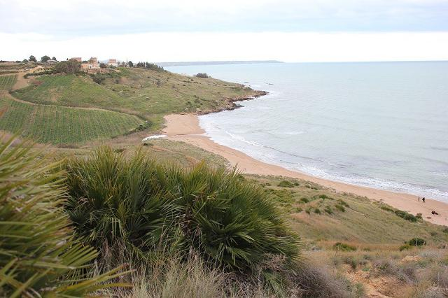 La spiaggia de Le Solette a Porto Palo, Menfi (AG)