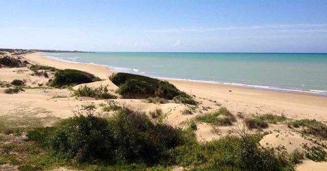 La spiaggia di Randello -  Riserva di Cava Randello (RG)