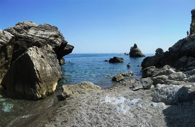 La spiaggia di Mongiove a Patti (ME)