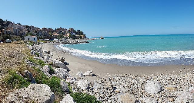 Spiaggia di Marina di Tusa, Castel di Tusa (ME)