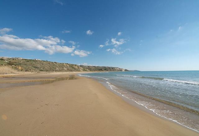 La spiaggia di Torre Salsa a Siculiana (AG)
