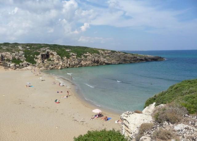La spiaggia di Vendicari a Noto (SR)