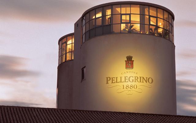 La torre della cantina Pellegrino a Marsala