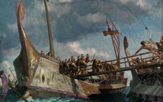 La battaglia delle Egadi