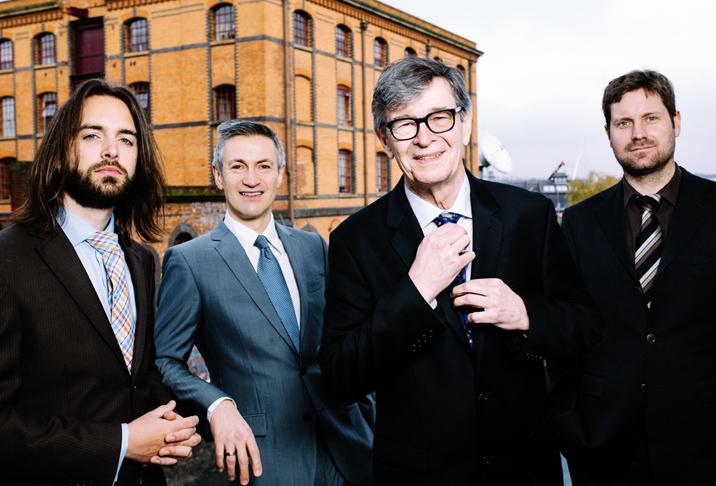 Darius Brubeck Quartet in 'Plays the music of Dave Brubeck'