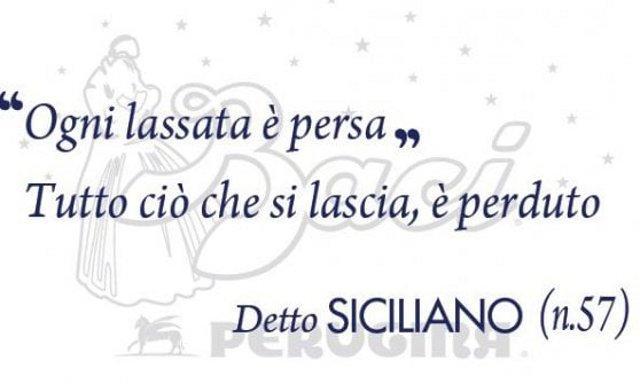 I Baci Perugina parlano anche siciliano