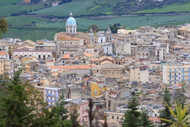 Panorama di Caltanissetta