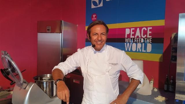L'oste e cuoco Filippo La Mantia, ospite fisso del Cous Cous Fest