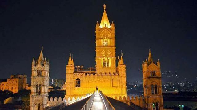 Il tetto della Cattedrale di Palermo