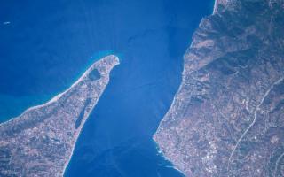 AstroPaolo fotografa lo stretto di Messina