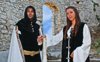 Medioevo e barocco a lume di candela