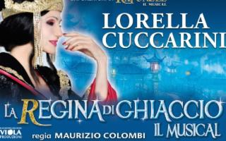 Lorella Cuccarini in 'La regina di ghiaccio'
