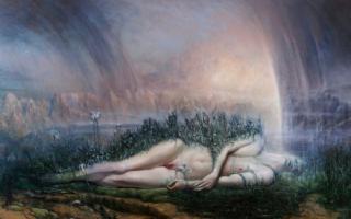 Naht - Blitz, di Agostino Arrivabene