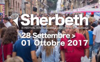 Sherbeth, il Festival Internazionale del Gelato Artigianale