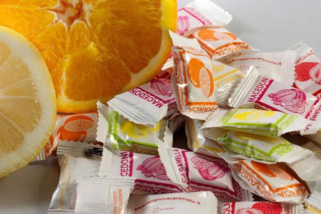 Le nuove caramelle Terranova alla frutta