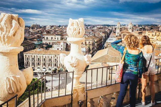 Guardando la Città di Catania