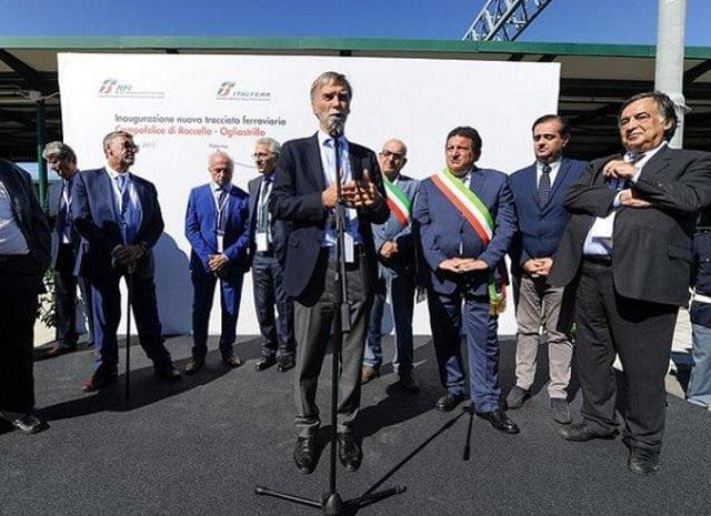 Inaugurato il nuovo tracciato ferroviario Campofelice di Roccella-Ogliastrillo
