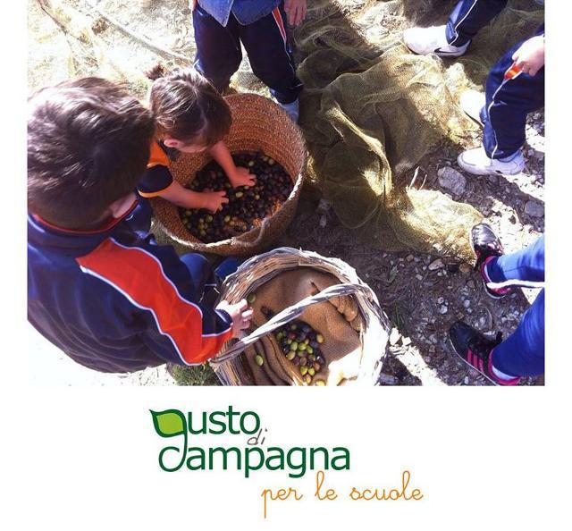 Il ''gusto'' della campagna offerto alle scuole siciliane...