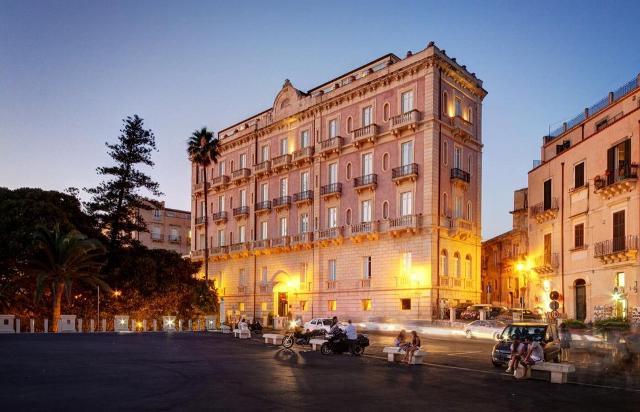 L'hotel Des Etrangerse di Siracusa