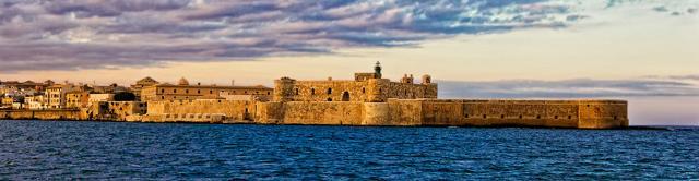 L'orizzonte di Ortigia, il Castello Maniace