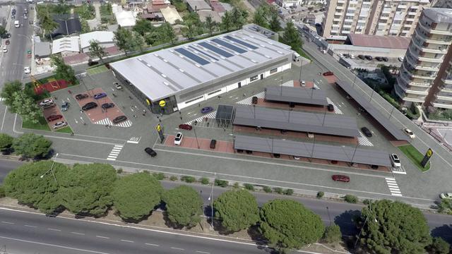Lidl apre a Palermo nell'ex area Salamone&Pullara